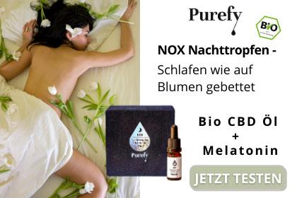 NOX Nachttropfen CBD + Melatoin aus Ihrer Apotheke