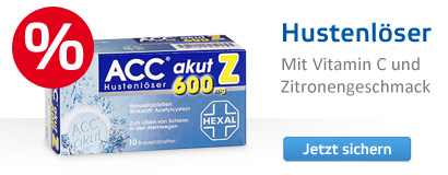 ACC akut 600 Z Hustenlöser Brausetabletten