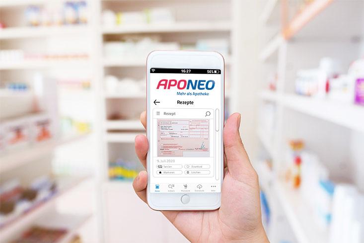 e-Rezept auf Smartphone