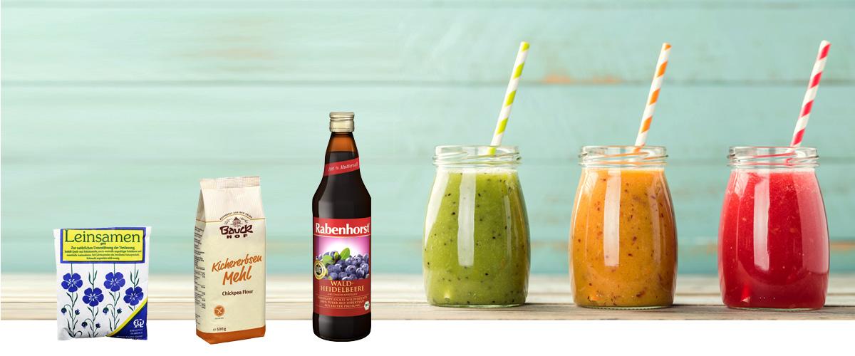 Bio-Foods und Genüssliches aus Ihrer Apotheke