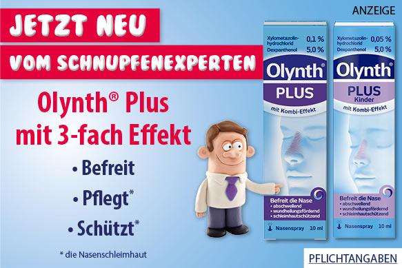 Olynth Plus Nasenspray bei Schnupfen