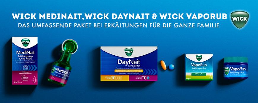 Wick-Produkte aus Ihrer Apotheke
