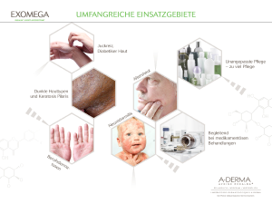 A-Derma Exomega Broschüre