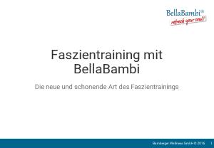 BellaBambi Präsentation