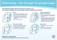 Schnelle Übungen für zwischendurch zur Entspannung der Augenmuskeln