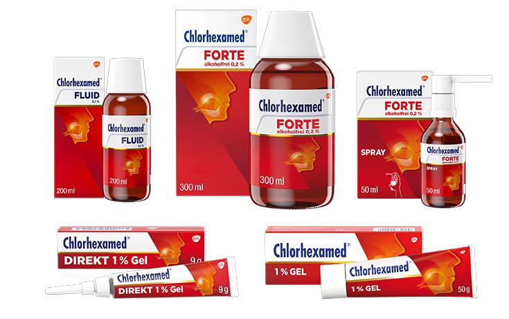 Chlorhexamed Produkte
