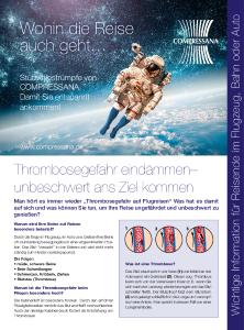 Compressana Reisestrümpfe Flyer