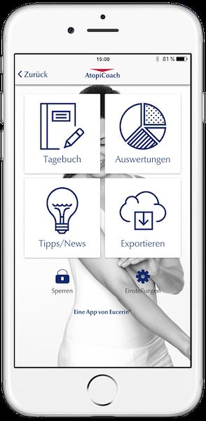 AtopiCoach – Das digitale Tagebuch für Neurodermitiker
