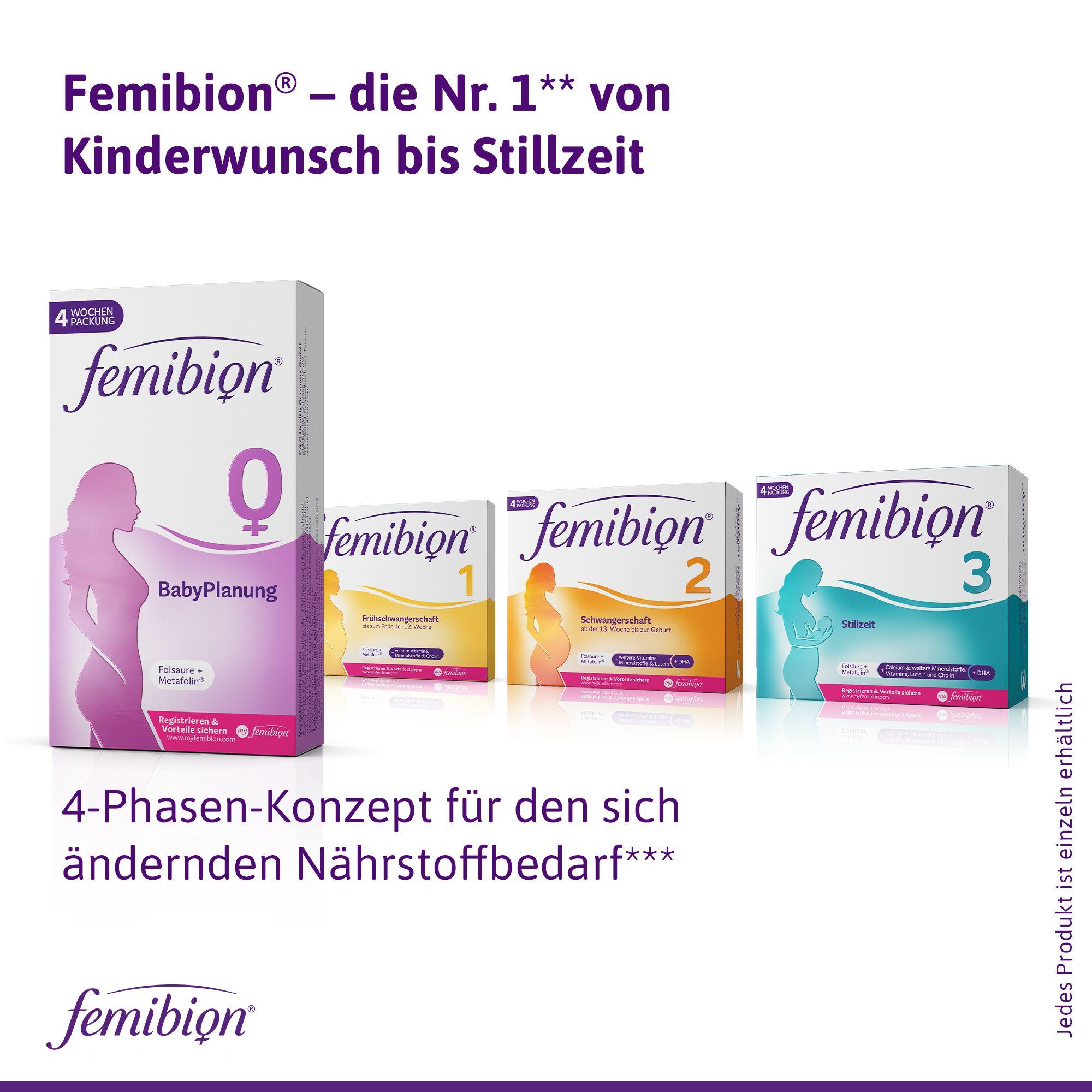 Femibion Produktrange