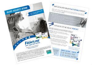 Frontline Handzettel - Zecken im Frühjahr