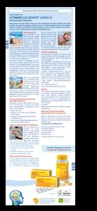 Vitamin D3 Hevert 2.000 I.E. Broschüre