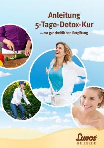 Luvos 5-Tage-Detox-Kur