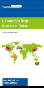 Pure+Green Broschüre