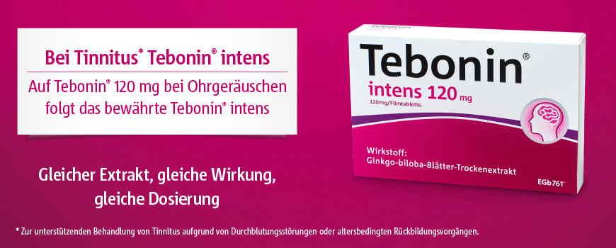 Tebonin Markenwelt Banner