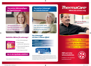 Thermacare Produkte auf einem Blick in der Übersicht