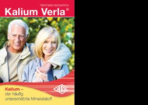 Kalium Verla Informationsbroschüre