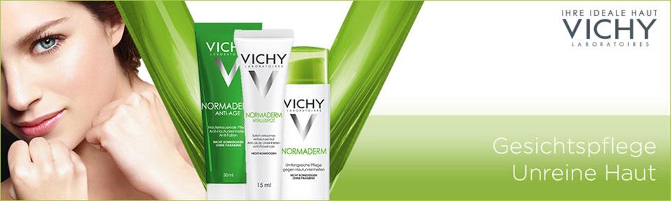 Gesichtspflege für unreine Haut von Vichy