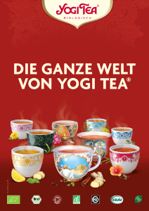 Yogi Tea Produktkatalog