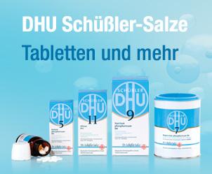 Schüßler-Salze Tabletten und mehr