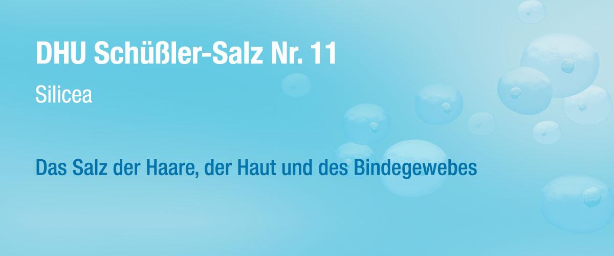 MW DHU Schüßler Tabletten Nr. 11