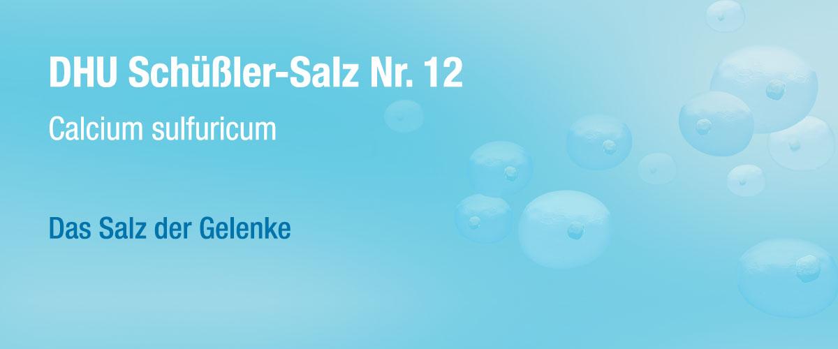 MW DHU Schüßler Tabletten Nr. 12