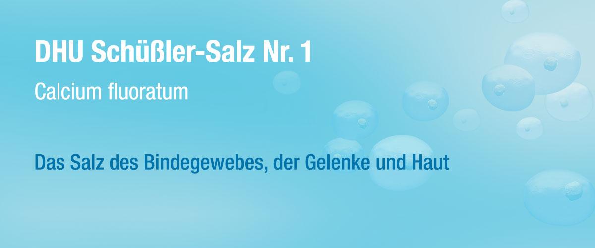 MW DHU Schüßler Tabletten Nr. 1