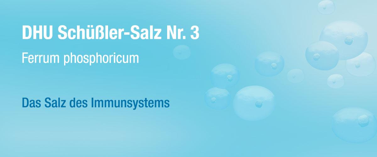 MW DHU Schüßler Tabletten Nr. 3
