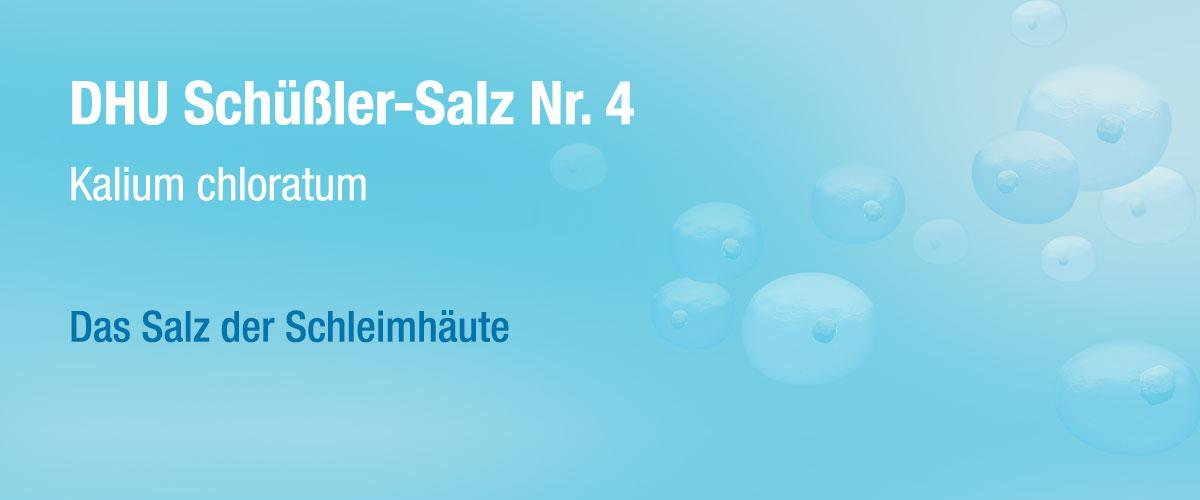 MW DHU Schüßler Tabletten Nr. 4