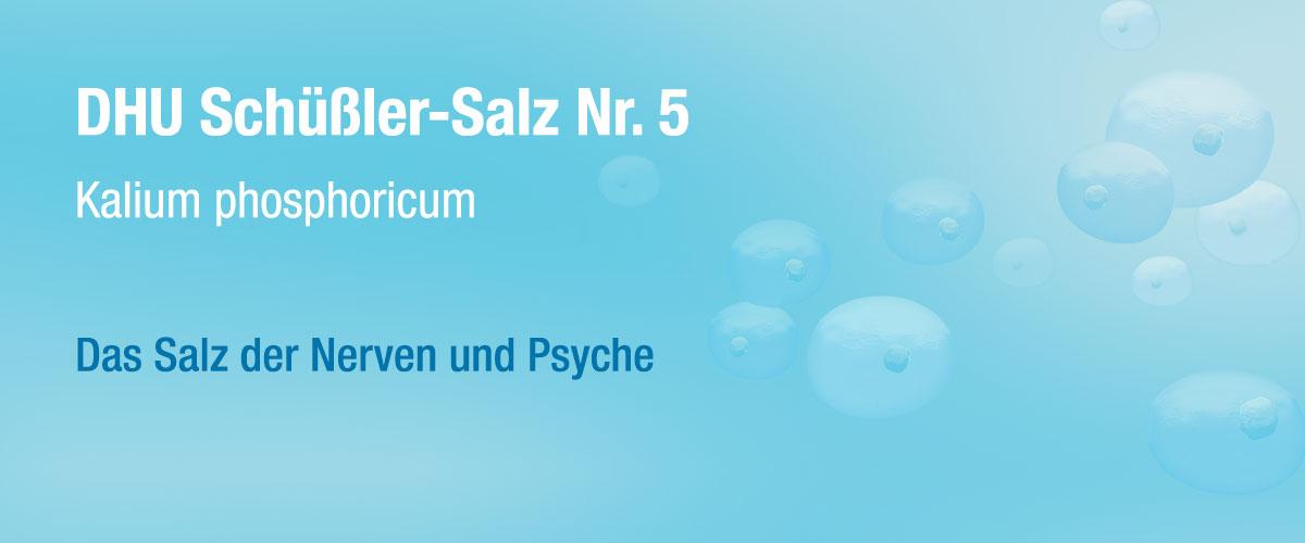 MW DHU Schüßler Tabletten Nr. 5
