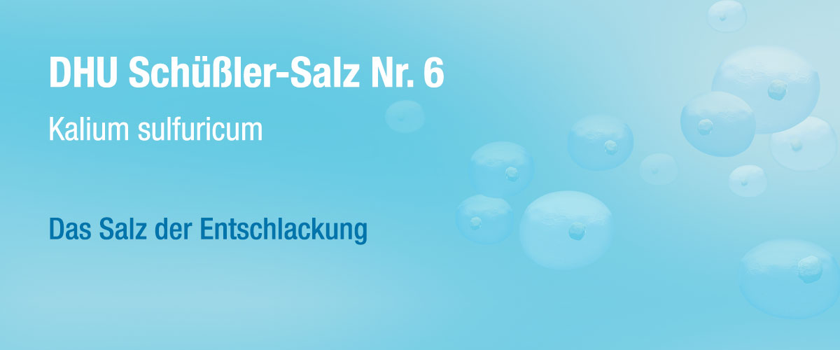 MW DHU Schüßler Tabletten Nr. 6
