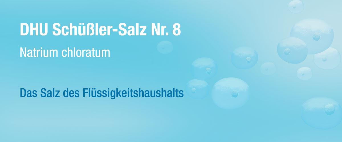 MW DHU Schüßler Tabletten Nr. 8