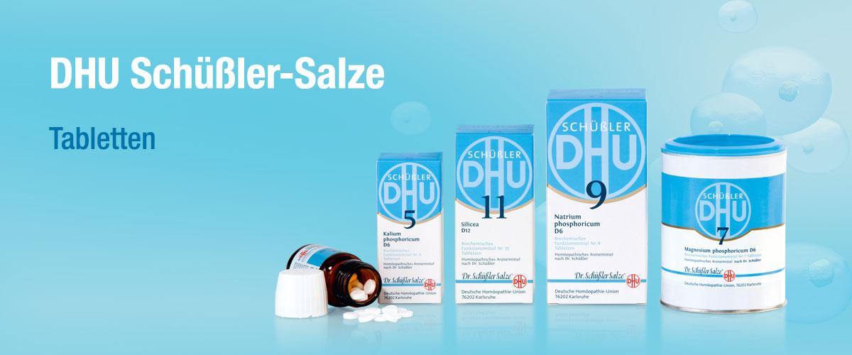MW DHU Schüßler Tabletten