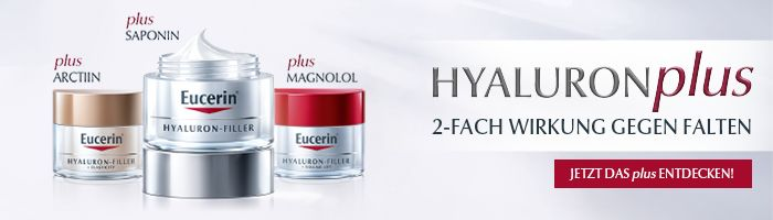 Eucerin - Anti-Age - Hyaluron-Filler Banner