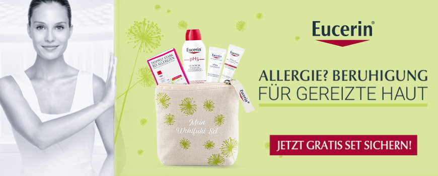 Eucerin Wohlfühlset Allergie aus Ihrer Apotheke