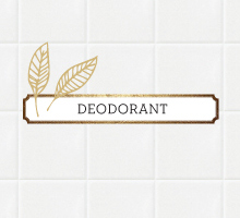 Deodorant von Korres
