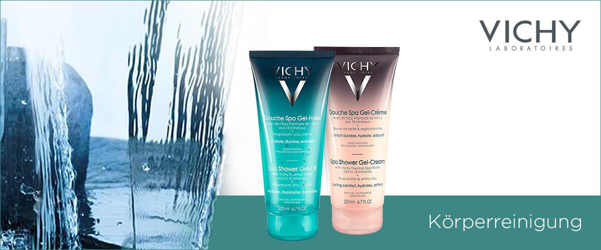 Vichy Dusche und Körperreinigung
