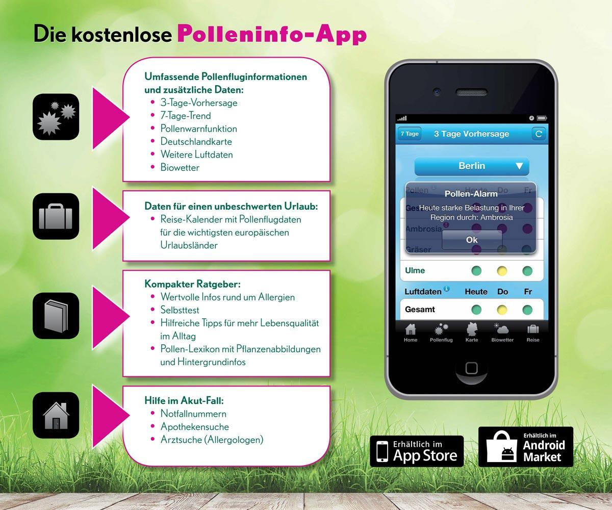 MW Polleninfo-App