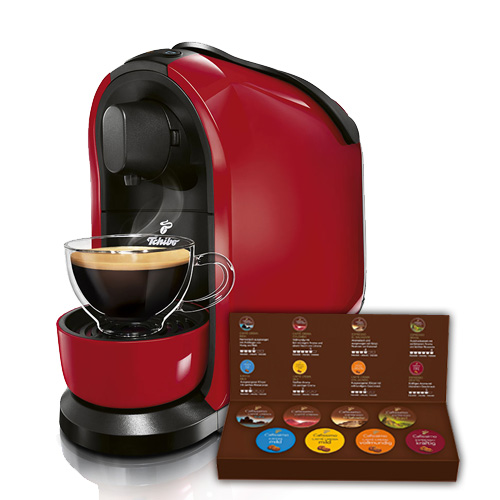 Cafissimo PURE Red plus Kapseln