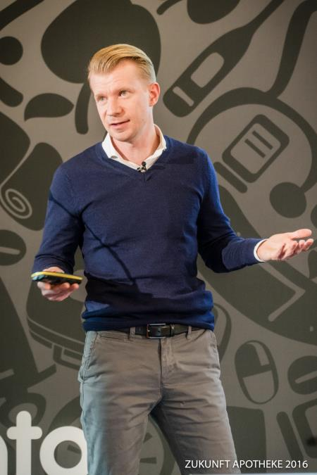 Hartmut Deiwick auf der Zukunft Apotheke