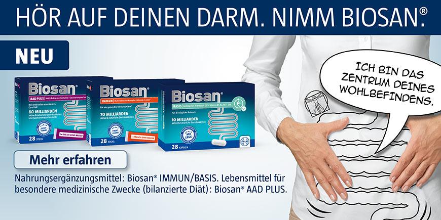Biosan - Hör auf Deinen Darm