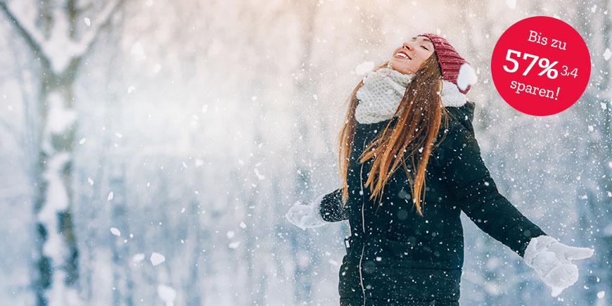 Bühne1 Angebote Gesund durch den Winter – zeigen Sie der Erkältung die kalte Schulter