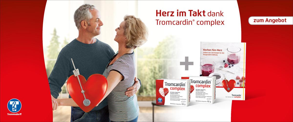 Herz im Takt dank Tromcardin complex