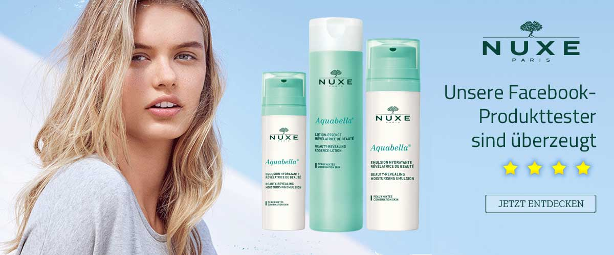 Nuxe Aquabella feuchtigkeitsspendende Produktserie