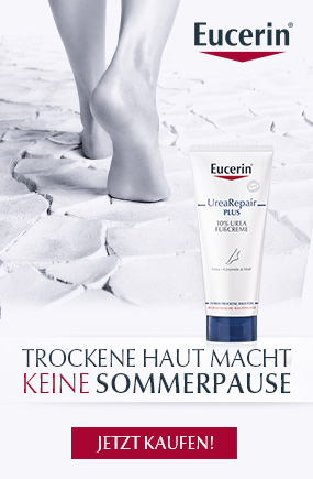 Eucerin UreaRepair Plus bei trockener Haut