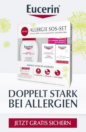 Aktion Eucerin Allergie SOS-Set gratis zu ausgewählten Eucerin Produkten
