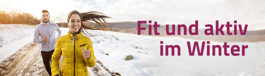 Fit und aktiv im Winter