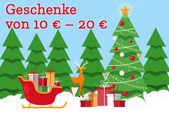 Geschenke von 10 Euro - 20 Euro