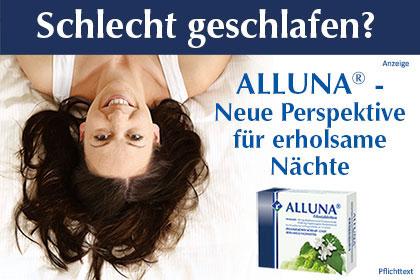 Alluna – bei Einschlafstörungen