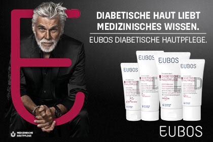 Eubos diabetische Hautpflege aus Ihrer Apotheke