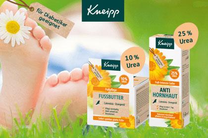 Kneipp Hautpflegeprodukte für Diabetiker aus Ihrer Apotheke